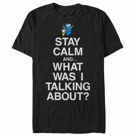 Finding Dory Calm Distracted T-Shirt