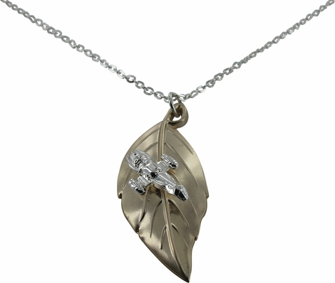 Serenity leaf on the wind pendant necklace firefly serenity leaf on the wind pendant necklace aloadofball Choice Image