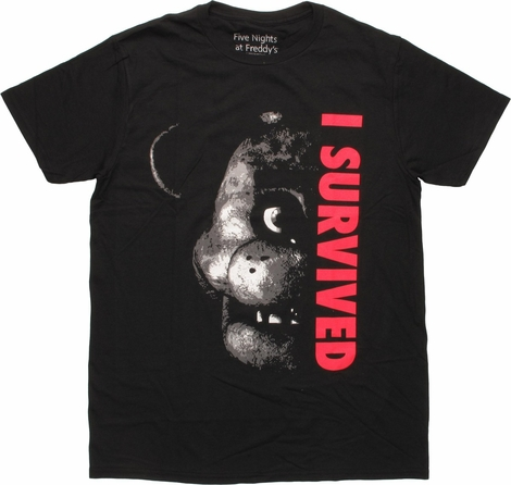Five Nights at Freddy's I Survived T-Shirt