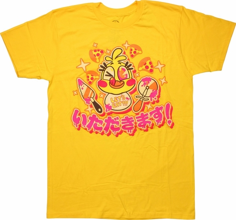 Five Nights at Freddy's Let's Eat T-Shirt