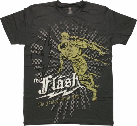 Flash Fastest Man Alive T-Shirt Sheer