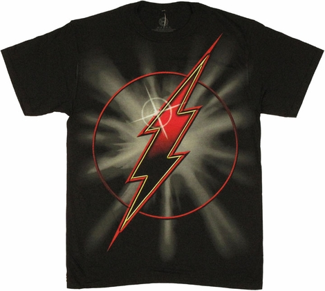 Flash Logo Flare T Shirt