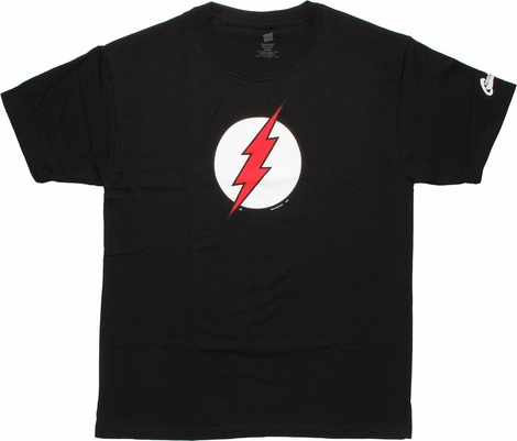 Flash Logo Red White T-Shirt