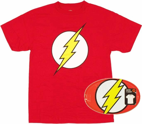 Flash Logo T Shirt in Tin