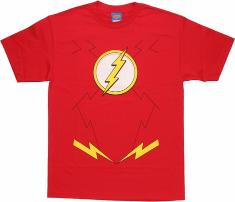 Flash New 52 Costume T Shirt