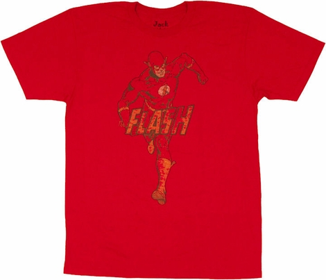 Flash Running Logo T Shirt Sheer