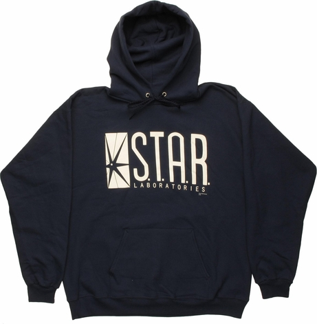 Flash Star Laboratories Navy Blue Hoodie