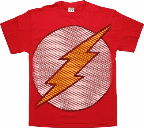 Flash Symbol Big T-Shirt