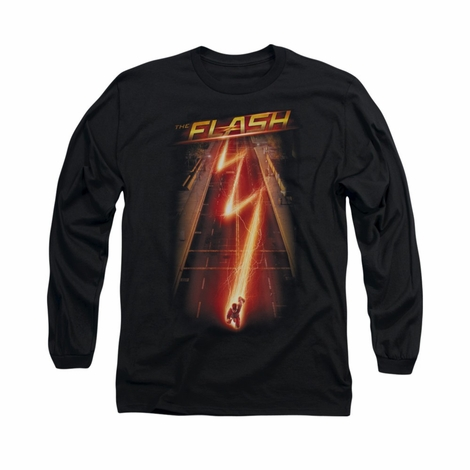 Flash TV Bolt Avenue Long Sleeve T Shirt