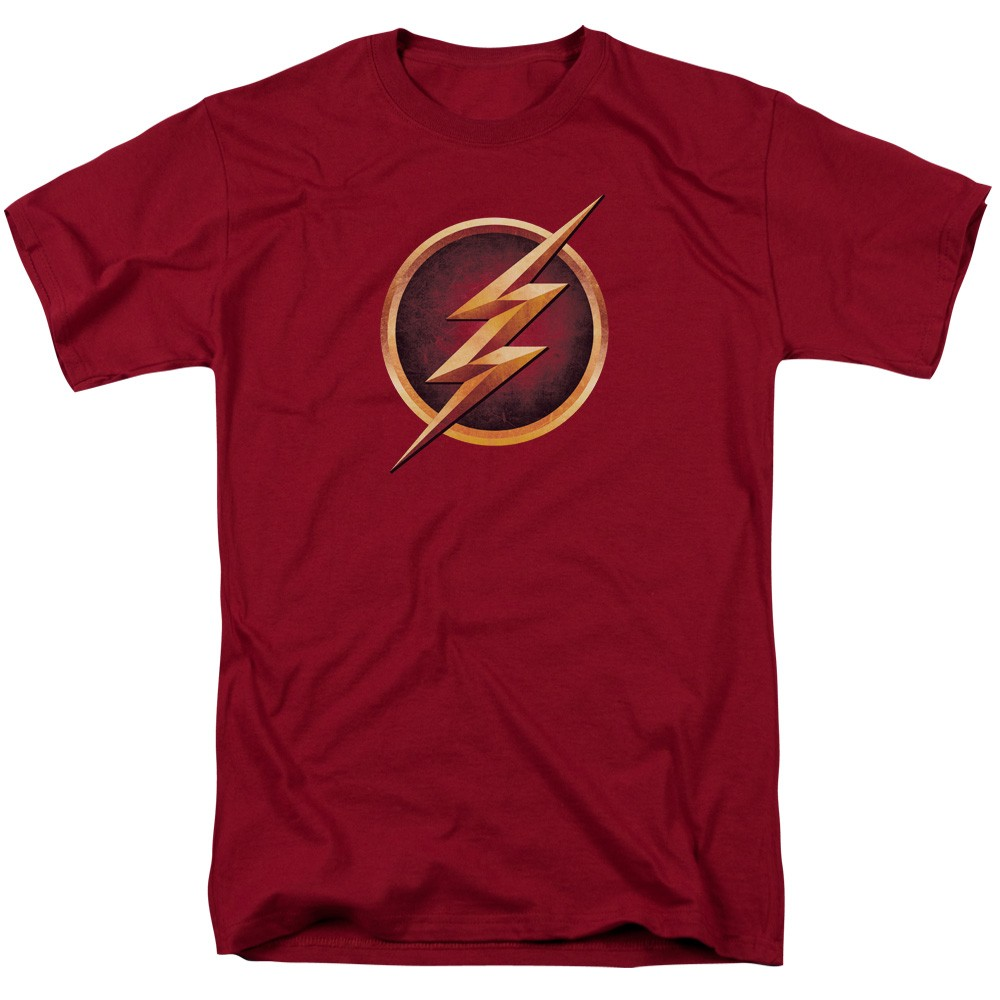 Flash tv chest logo t shirt for T shirt with logo
