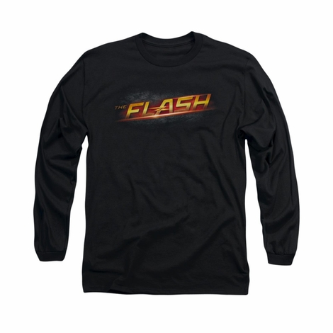 Flash TV Logo Long Sleeve T Shirt