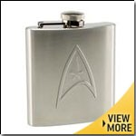 Superhero Hip Flasks