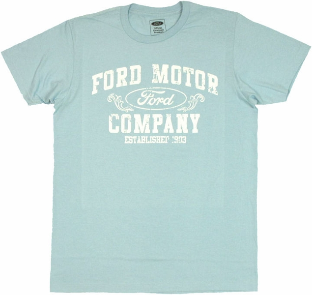 ford motor company t shirt sheer. Black Bedroom Furniture Sets. Home Design Ideas