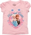 Frozen Elsa Anna Names Heart Frame Toddler T Shirt