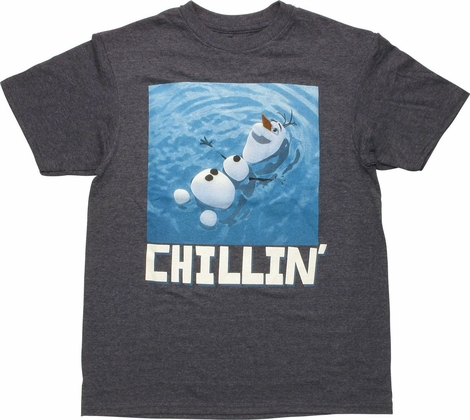 Frozen Olaf Chillin Youth T Shirt