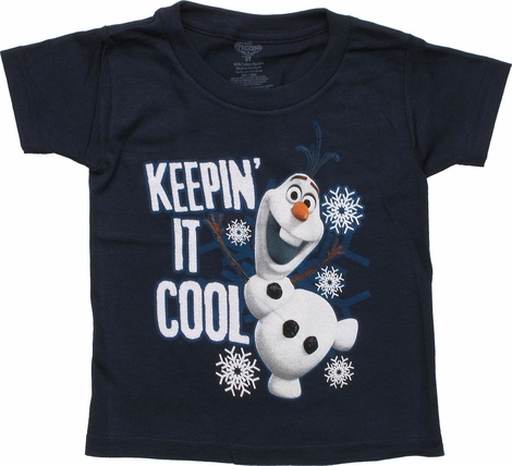 Frozen Olaf Keepin it Cool Toddler T Shirt