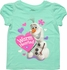 Frozen Olaf Warm Hearted Toddler T Shirt