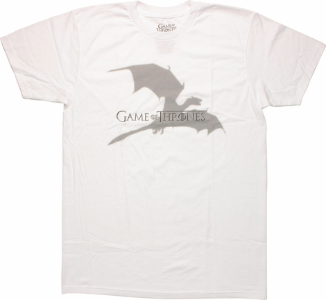 Game of Thrones Dragon Shadow T Shirt Sheer