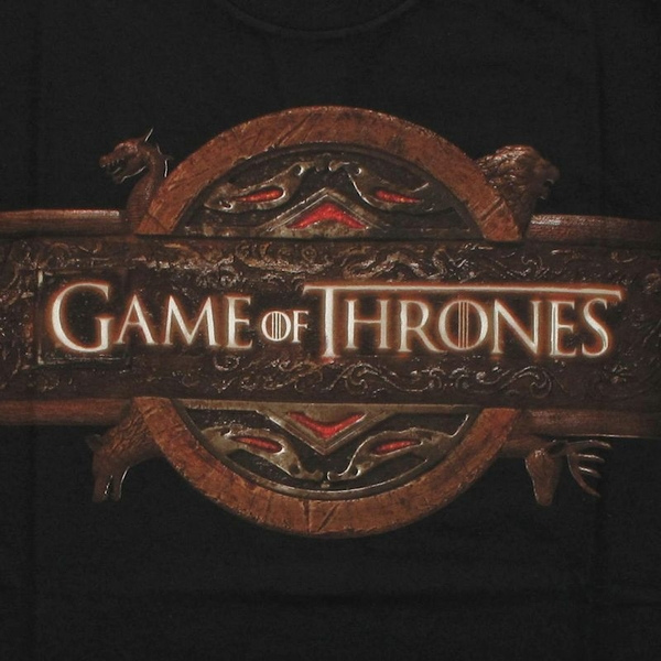 game of thrones gray name logo t shirt sheer. Black Bedroom Furniture Sets. Home Design Ideas