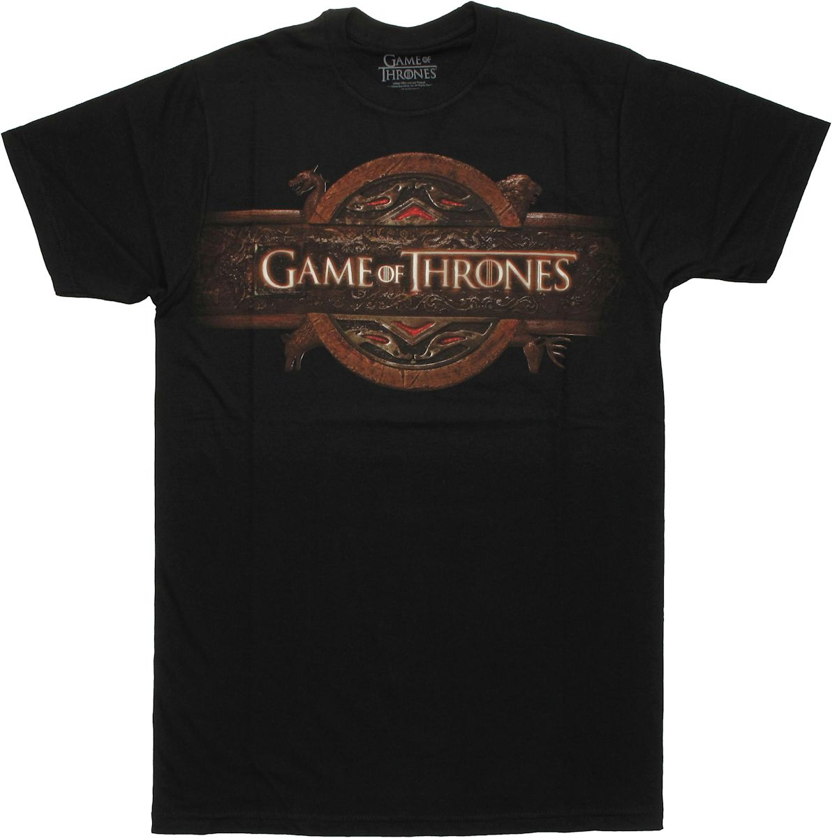 Game of thrones gray name logo t shirt sheer for Throne of games shirt