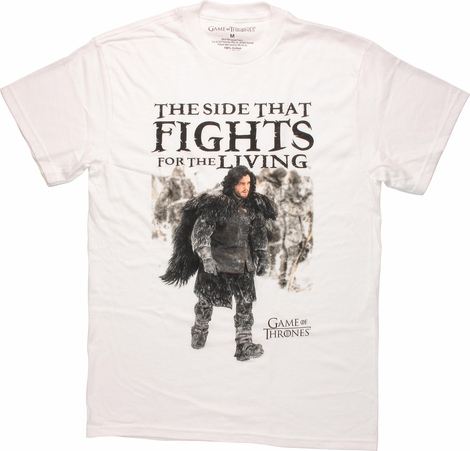 Game of Thrones Jon Fights Living T Shirt