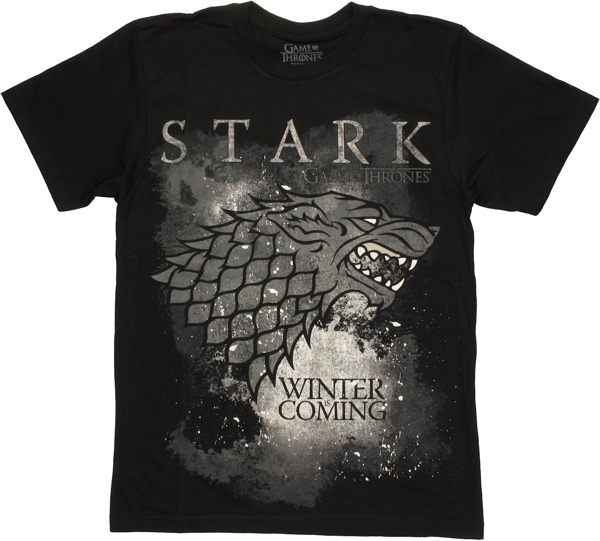 Game of thrones stark winter t shirt sheer for Throne of games shirt