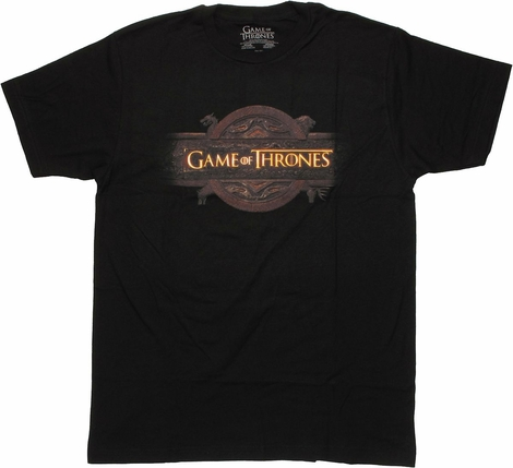 Game of Thrones Subtle Logo T Shirt Sheer
