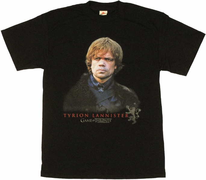 Game of thrones tyrion t shirt for Throne of games shirt