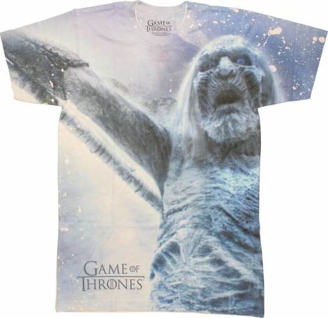 Game of Thrones Walker Sublimated T Shirt Sheer
