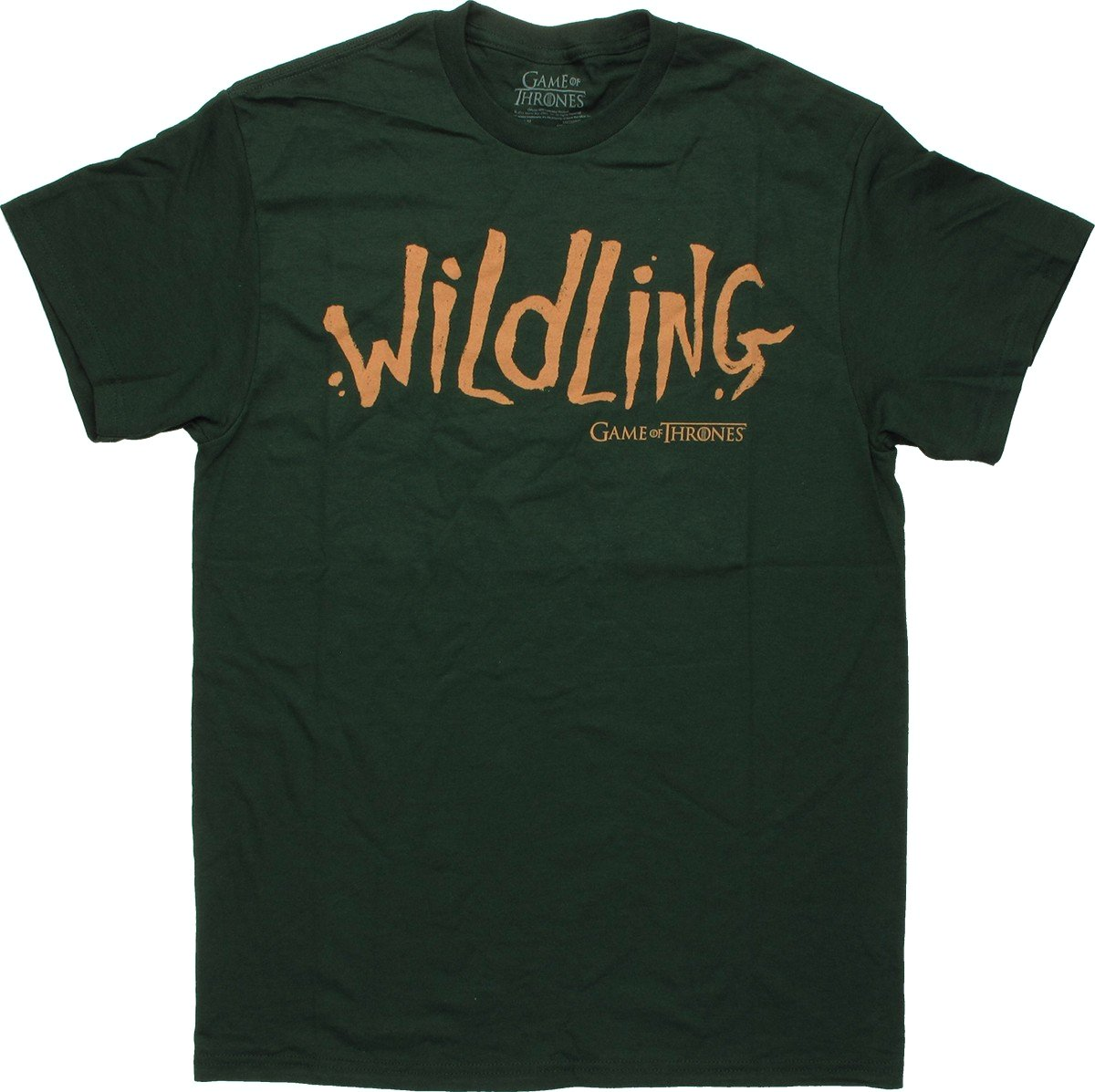 Game of thrones wildling t shirt for Throne of games shirt