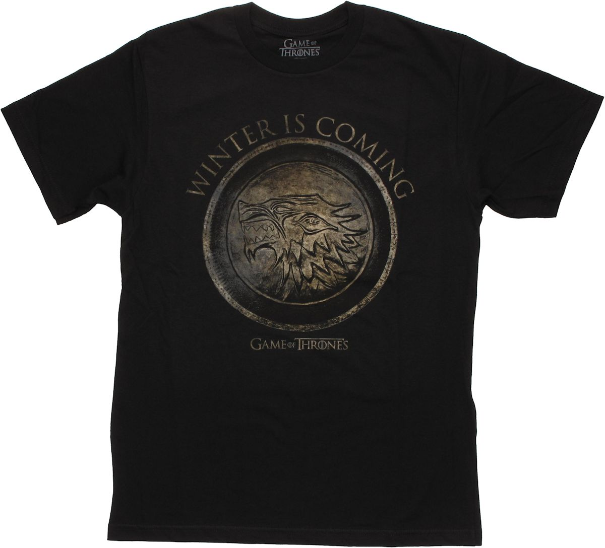 Game of thrones winter shield t shirt sheer for Throne of games shirt