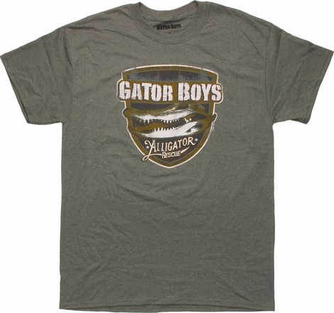 Gator Boys Alligator Rescue T-Shirt Sheer