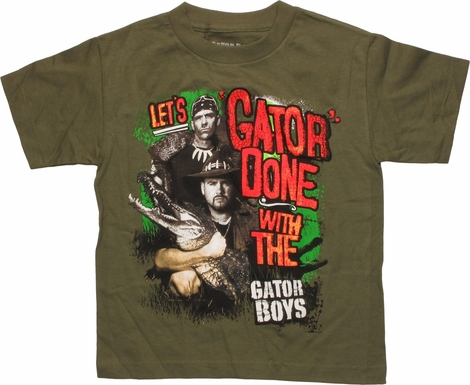 Gator Boys Let's Gator Done Youth T-Shirt
