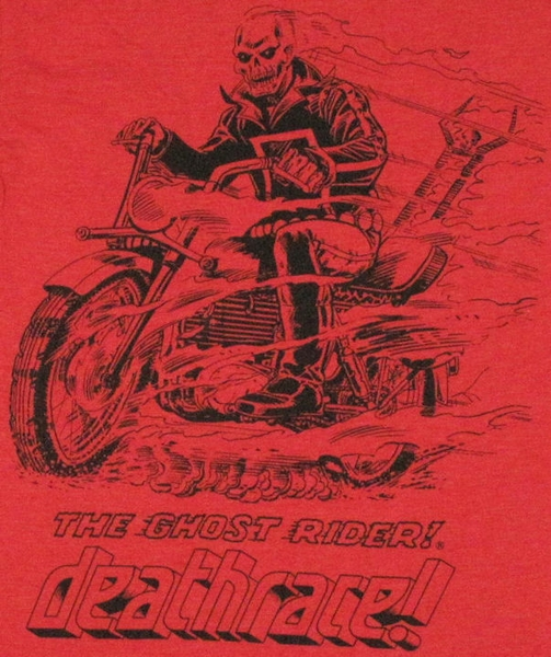 Ghost Rider Quotes About Life And Death: Ghost Rider Deathrace T Shirt Sheer