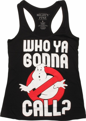 Ghostbusters Gonna Call Tank Top Juniors T-Shirt