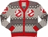 Ghostbusters Logo Knit Cardigan Sweater