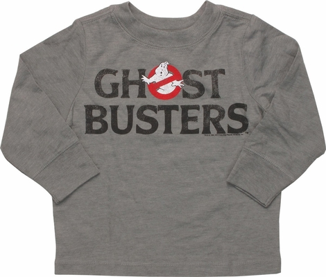 Ghostbusters Name Long Sleeve Infant T-Shirt