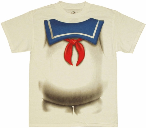 Ghostbusters Stay Puft T Shirt