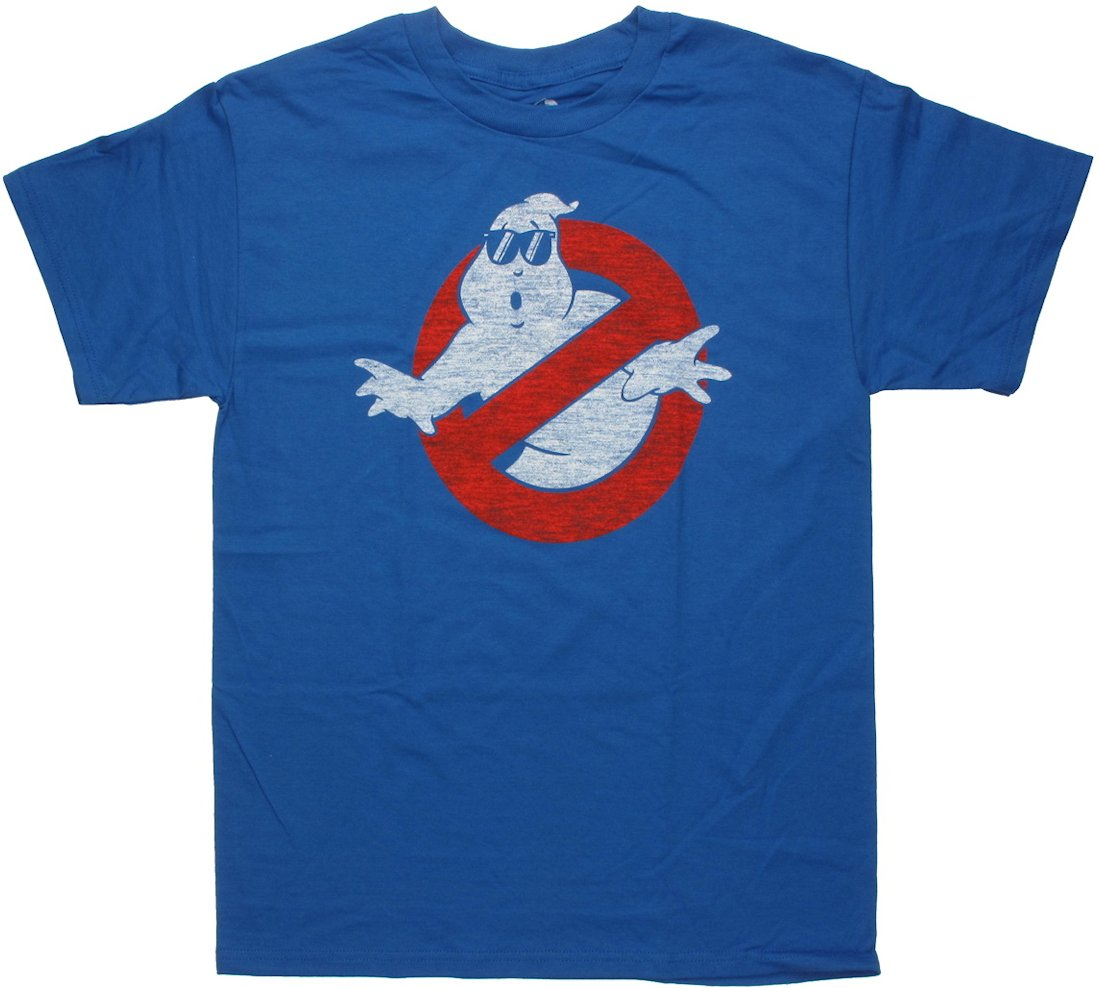 Ghostbusters Vintage Logo Shades T Shirt