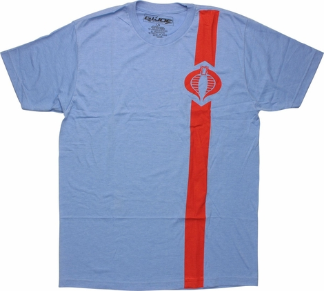 GI Joe Cobra Logo Red Stripe T-Shirt