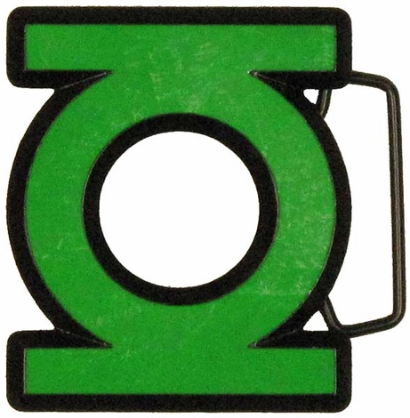 Green Lantern Symbol Belt Buckle