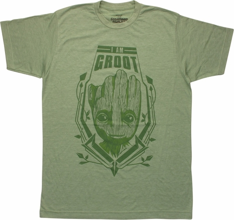 Guardians of the Galaxy 2 I Am Groot T-Shirt