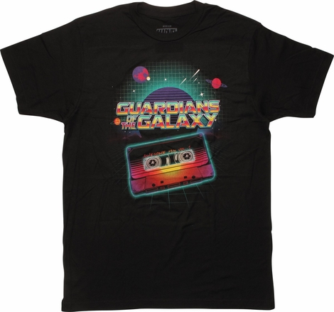 Guardians of the Galaxy Awesome Mix Vol 1 T-Shirt