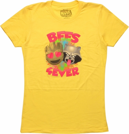 Guardians of the Galaxy BFFs Womens Boyfriend Tee