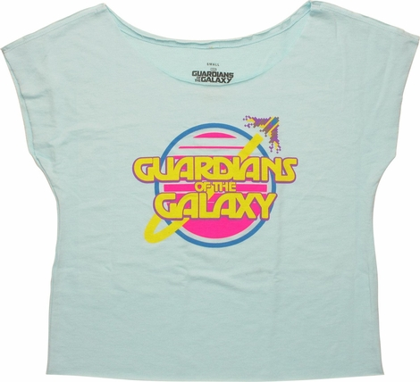 Guardians of the Galaxy Retro Dolman Ladies Tee