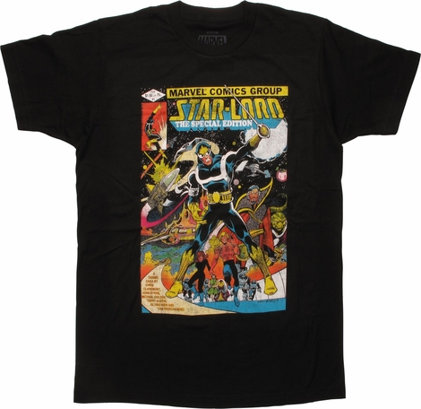 Guardians of the Galaxy Star Lord Cover 1 T-Shirt