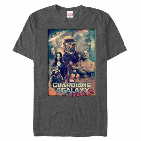 Guardians of the Galaxy Vol 2 Art Poster T-Shirt