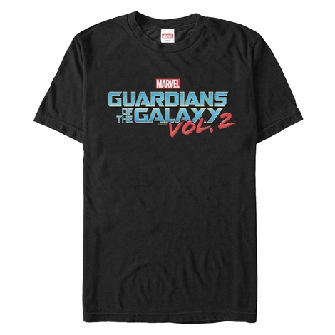 Guardians of the Galaxy Vol 2 Basic Logo T-Shirt