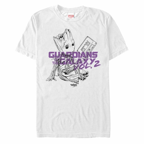Guardians of the Galaxy Vol 2 Groot Tape T-Shirt