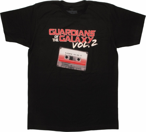 Guardians of the Galaxy Vol 2 Mix Tape T-Shirt